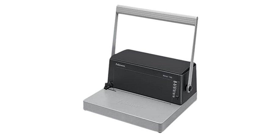 Comprar encuadernadora epiral Fellowes Metal 100R en Amazon